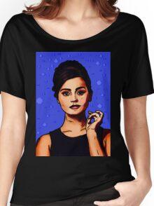 Jenna Coleman a.k.a Clara Oswald Women's Relaxed Fit T-Shirt