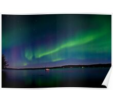 Auroras and The Lake Poster