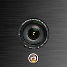 Camera iphone case by ALIANATOR