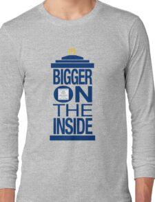 It's Bigger on the Inside - Tardis Long Sleeve T-Shirt