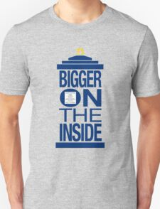 It's Bigger on the Inside - Tardis T-Shirt