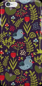 Folk birds. by Ekaterina Panova