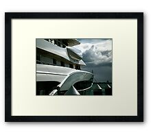 Shapes and Shadows.......! Framed Print
