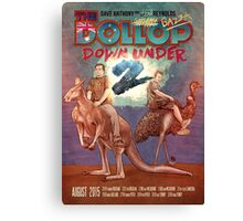 The Dollop DOWNUNDER 2 Canvas Print