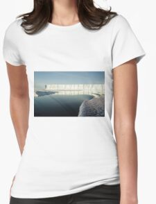 Bright Day Iceberg, Ross Sea, Antarctica  Womens Fitted T-Shirt
