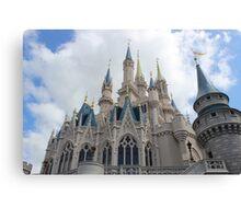 Magic Kingdom Castle Canvas Print