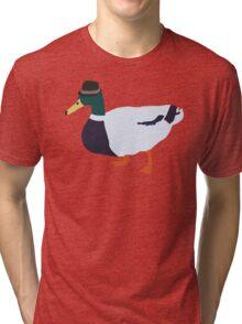 Fedora Duck Tri-blend T-Shirt