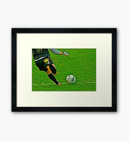 The Game Ball Framed Print
