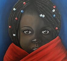 'Eyes Of Hope' by Dawn Jones Art
