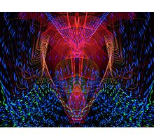 The Light Warrior Photographic Print