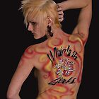 Jenn in Body Paint by Richard Heath