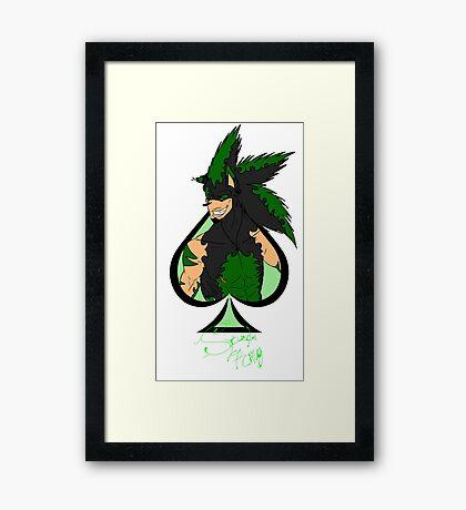 Spade King  Framed Print