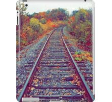 Autumn Railroad iPad Case/Skin