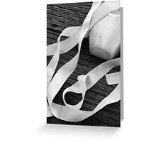 Ribbons Greeting Card