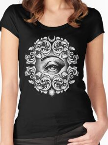 Third eye Women's Fitted Scoop T-Shirt