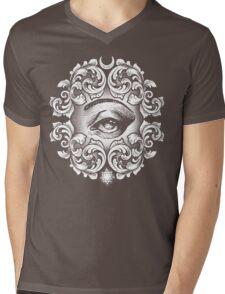 Third eye Mens V-Neck T-Shirt