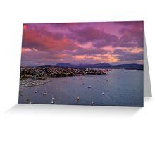 River Derwent - Hobart, Tasmania Greeting Card