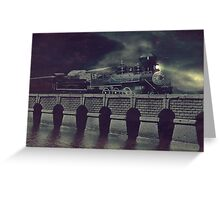Steaming on By Greeting Card