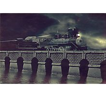 Steaming on By Photographic Print