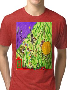 The gals decorate the tree Tri-blend T-Shirt