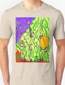 The gals decorate the tree Unisex T-Shirt