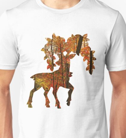 Sawsbuck (autumn) used horn leech Unisex T-Shirt