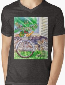 At The French Bakery  Mens V-Neck T-Shirt