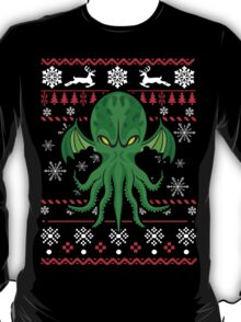 Cthulhu Ugly Christmas Sweater T-Shirt