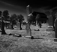St. Mary's Cemetery by JLBphoto