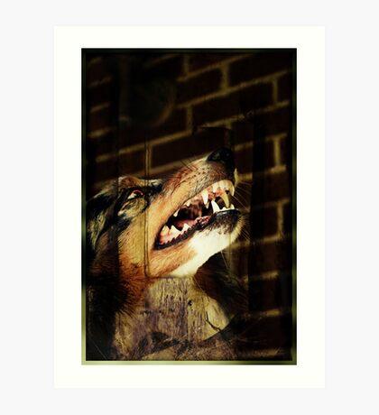 Werewolf Sam Art Print
