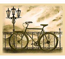 Retro Bicycle Photographic Print