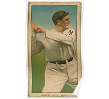 Benjamin K Edwards Collection Admiral Schlei New York Giants baseball card portrait 002 Poster