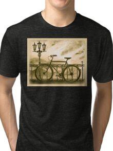 Retro Bicycle Tri-blend T-Shirt