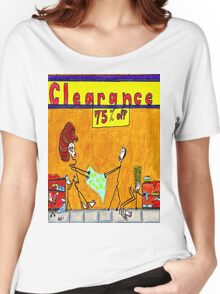 Clearance Sale Women's Relaxed Fit T-Shirt