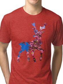 Sawsbuck (spring) used aromatherapy Tri-blend T-Shirt