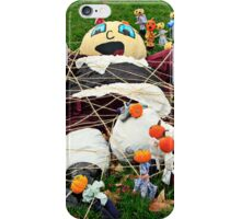 Invasion of the Pumpkin People iPhone Case/Skin