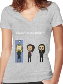 Select Clarke Women's Fitted V-Neck T-Shirt