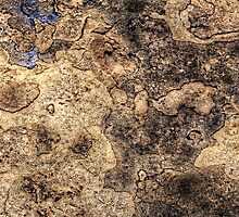Sandstone - Ancient texture iPhone 4/4S Case by njordphoto