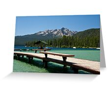 Redfish Lake, Idaho Greeting Card