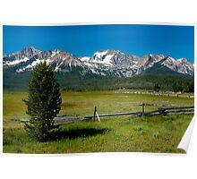 Sawtooth Mountains, Idaho Poster