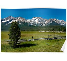 Sawtooth Mountains, Idaho Poster