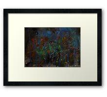 Midnight Garden cycle22 12 Framed Print