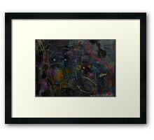 Midnight Garden cycle22 2 Framed Print