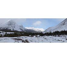 Elbow Pass valley Photographic Print