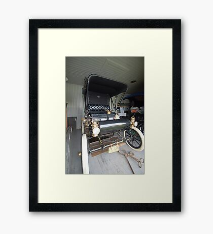 San Francisco to New York Framed Print