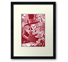 Browfy's Quest Framed Print