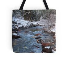 Ribbon Creek Tote Bag