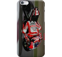 Nicky Hayden Dragging knee at Qatar iPhone Case. iPhone Case/Skin
