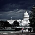 Stormy Clouds Over The Capitol by Vince Russell
