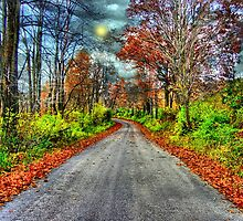 The Splendors Of Autumn by Donnie Voelker
